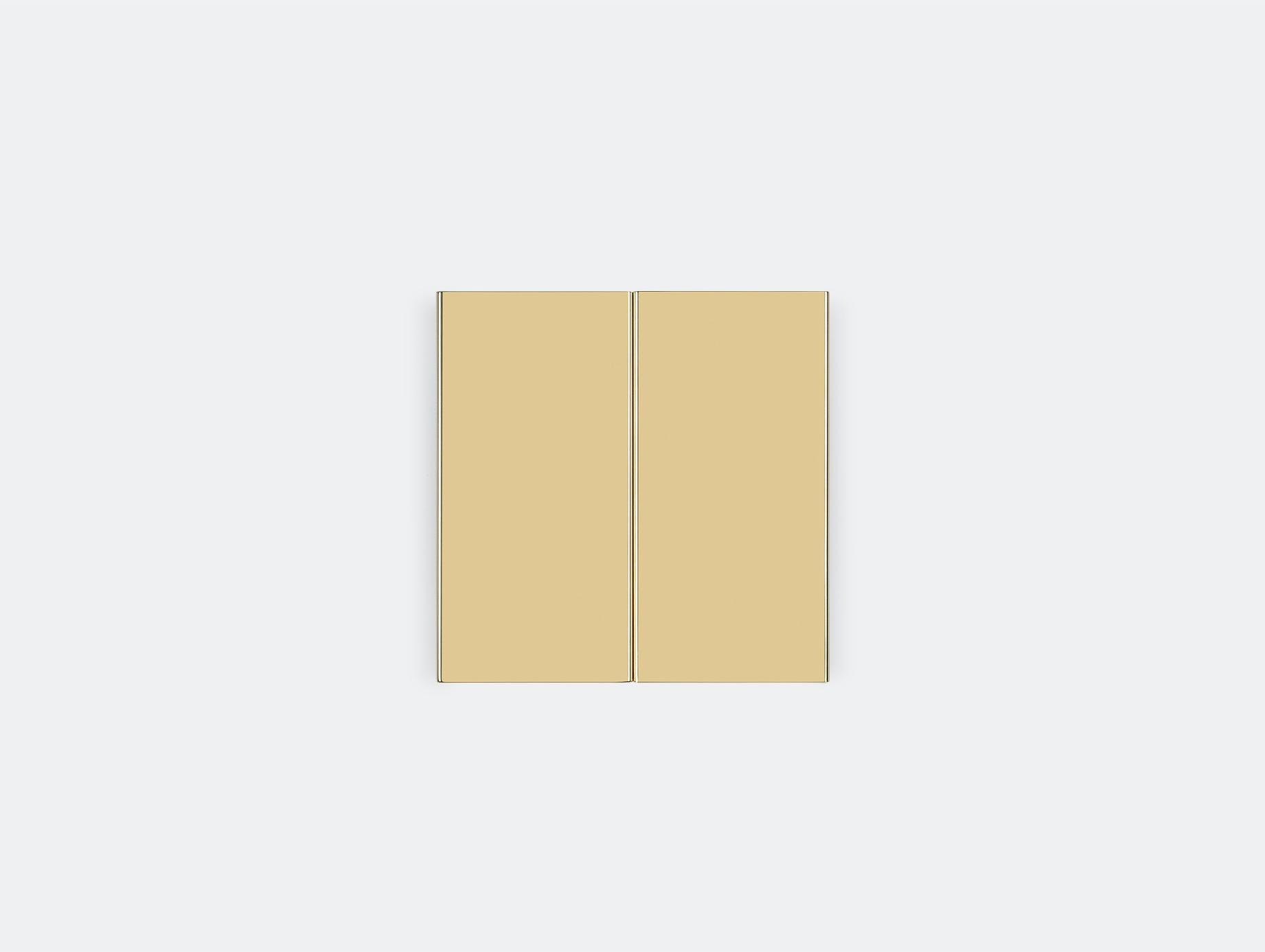 E15 Seam Three Wall Light Brass Mark Holmes