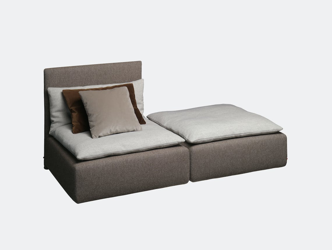 E15 Shiraz Sofa Double Element Philipp Mainzer Farah Ebrahimi