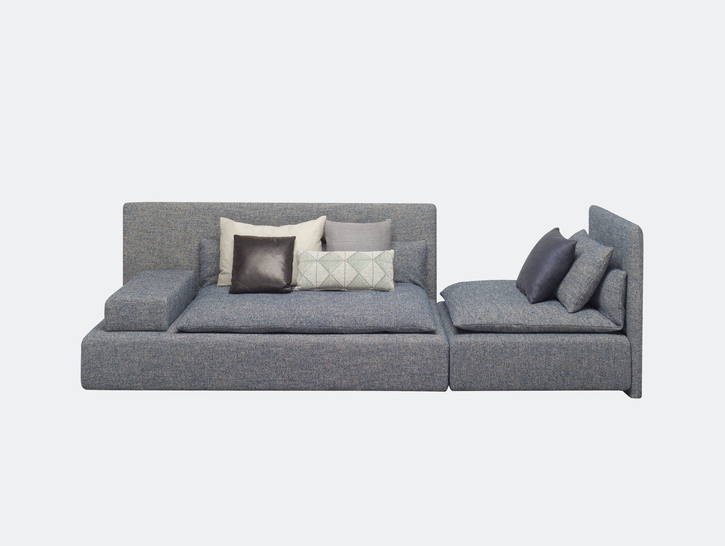 E15 Shiraz Sofa Large Double Element Philipp Mainzer Farah Ebrahimi