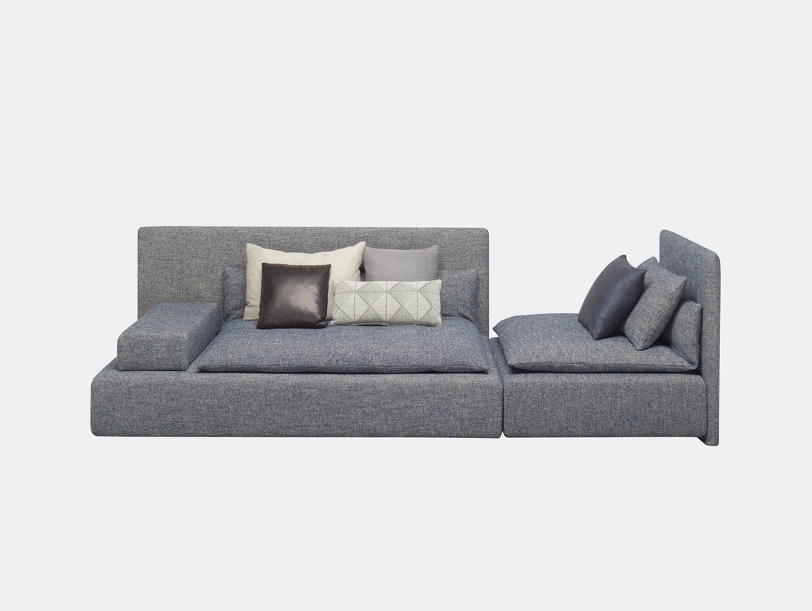 E15 Shiraz Sofa Large Double Element Philipp Mainzer Farah Ebrahimi
