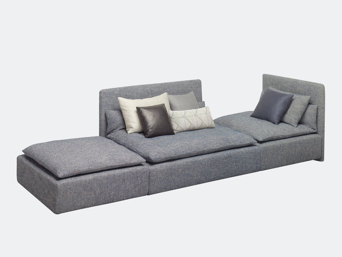 E15 Shiraz Sofa Large Triple Element Philipp Mainzer Farah Ebrahimi