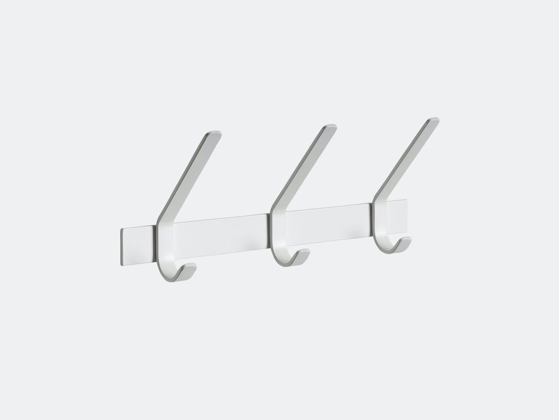 E15 Uni Coat Rack 3 Hook White Ferdinand Kramer