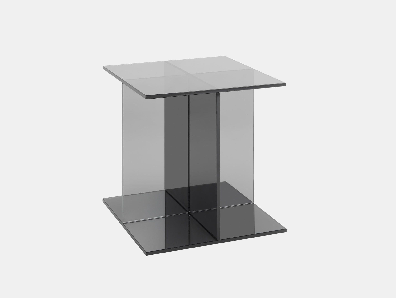 E15 Vier Side Table Grey Philipp Mainzer