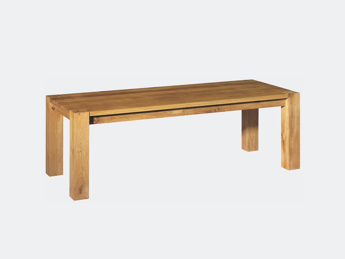 E15 Bigfoot Table Oak Philipp Mainzer