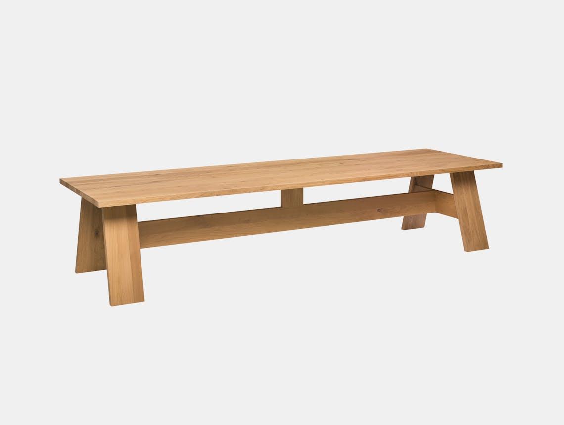 E15 Fayland Table Oak Oiled David Chipperfield
