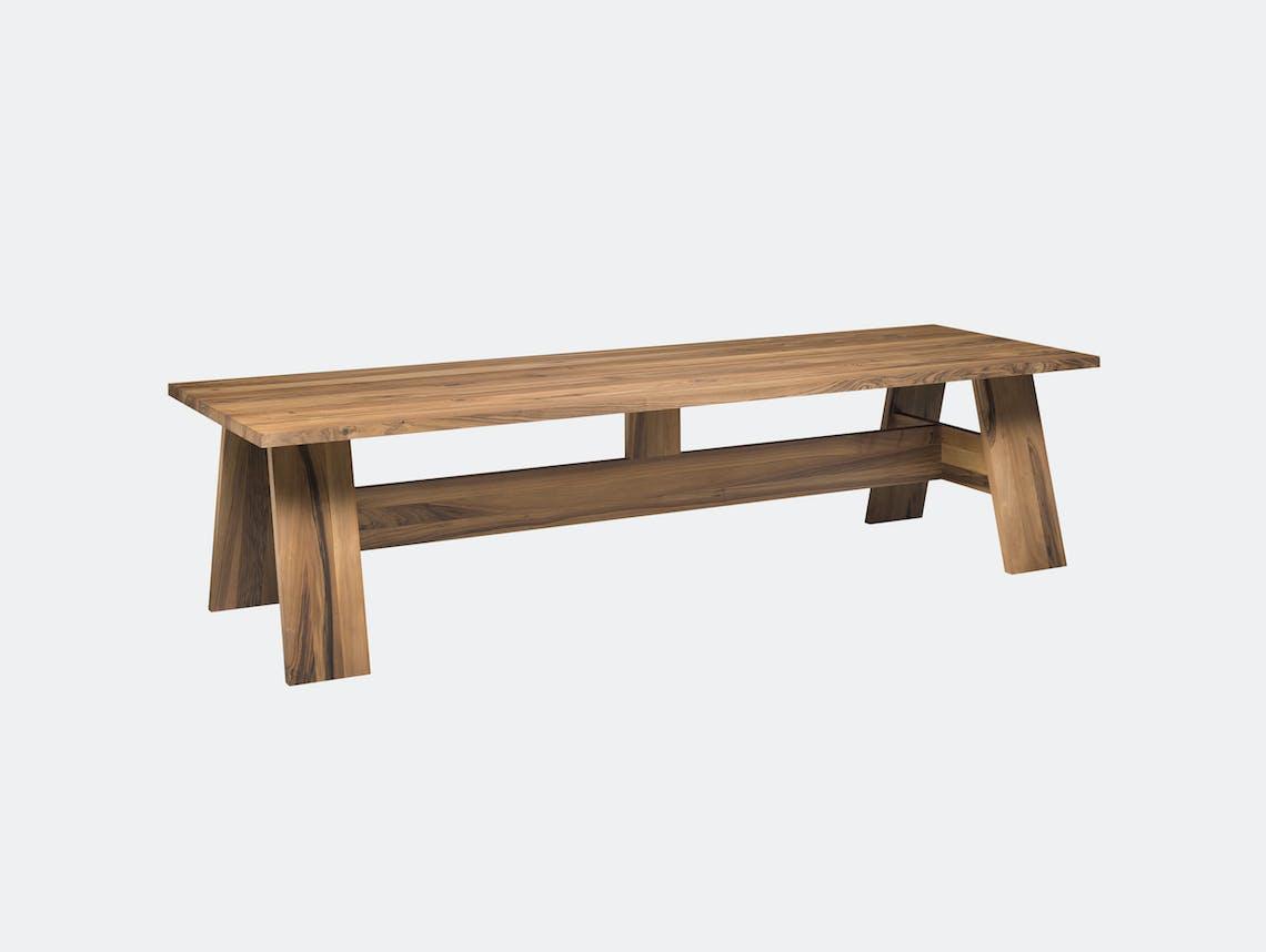 E15 Fayland Table Walnut David Chipperfield