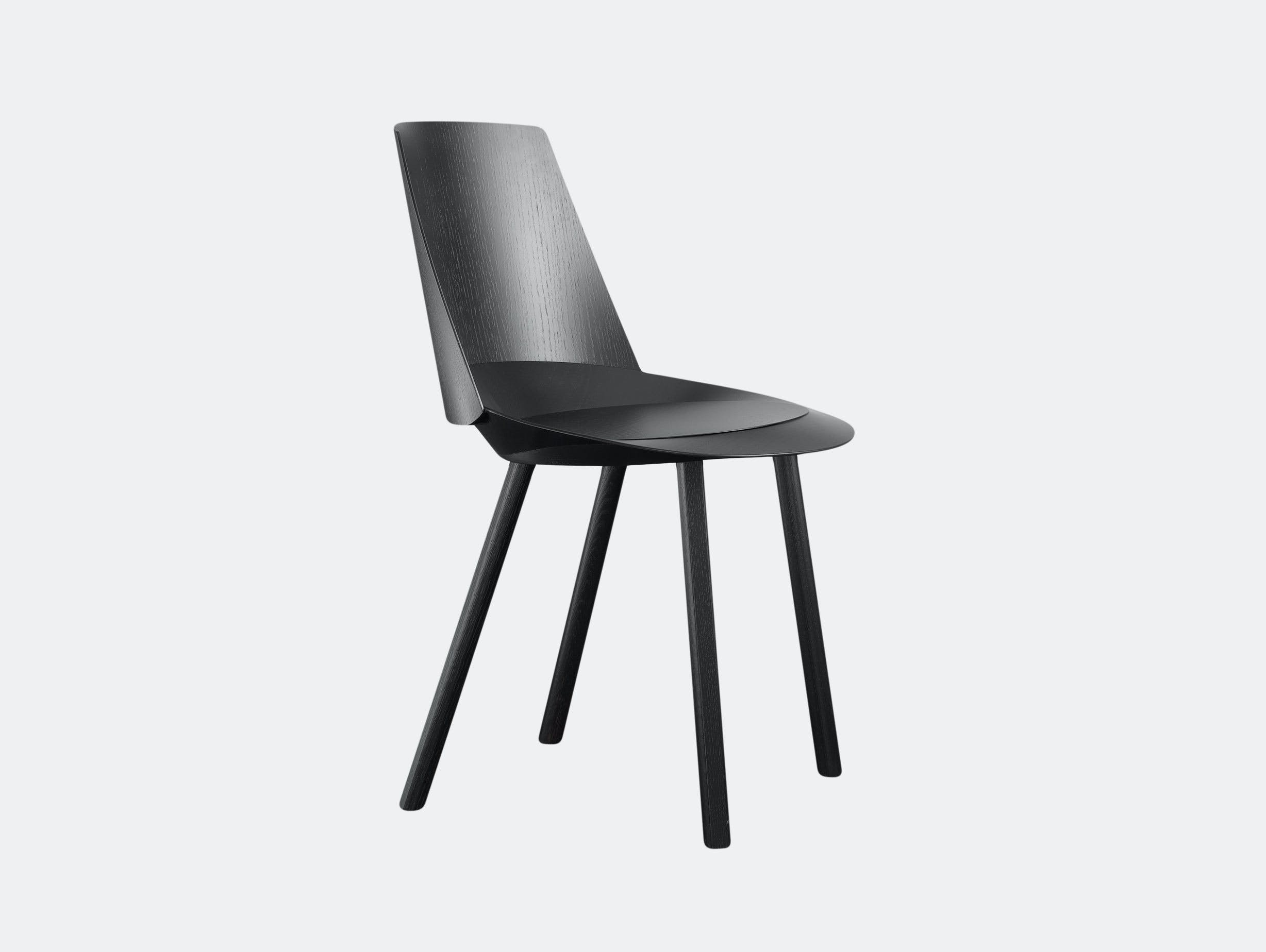 E15 Houdini Chair Black Stefan Diez