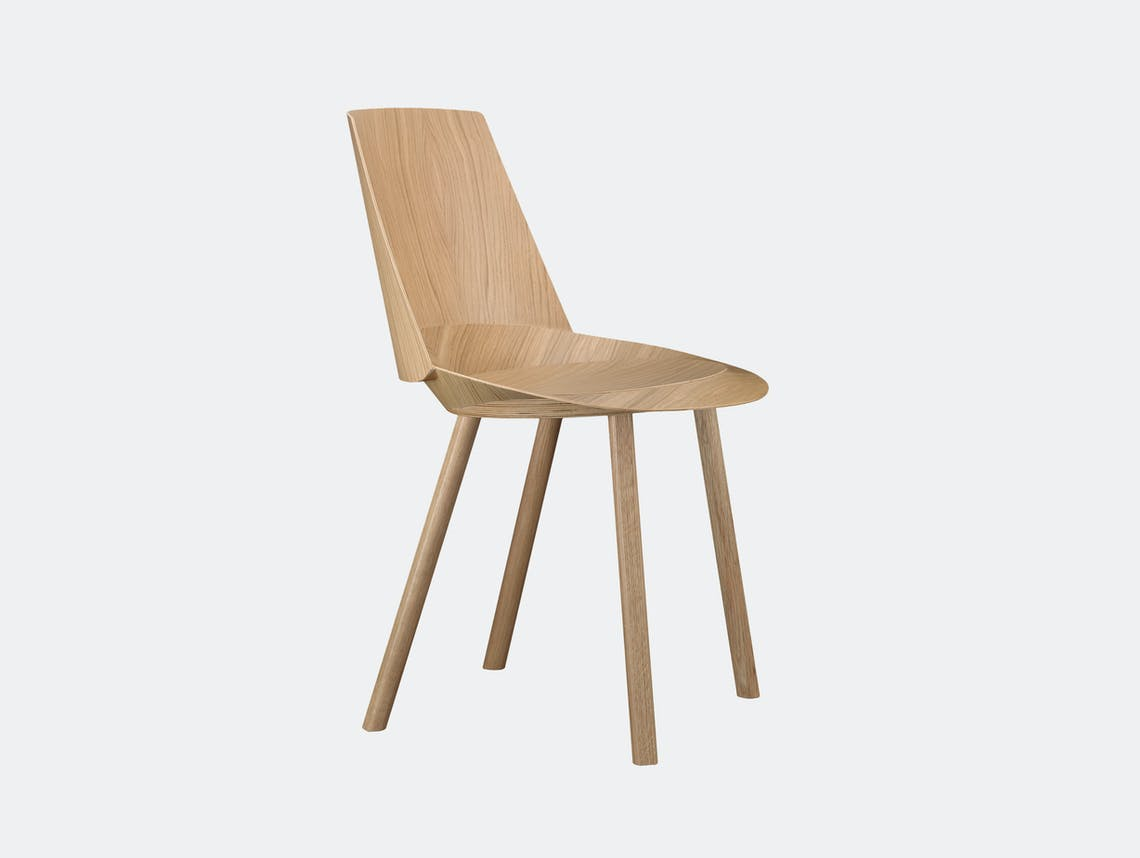 E15 Houdini Chair Oak Stefan Diez