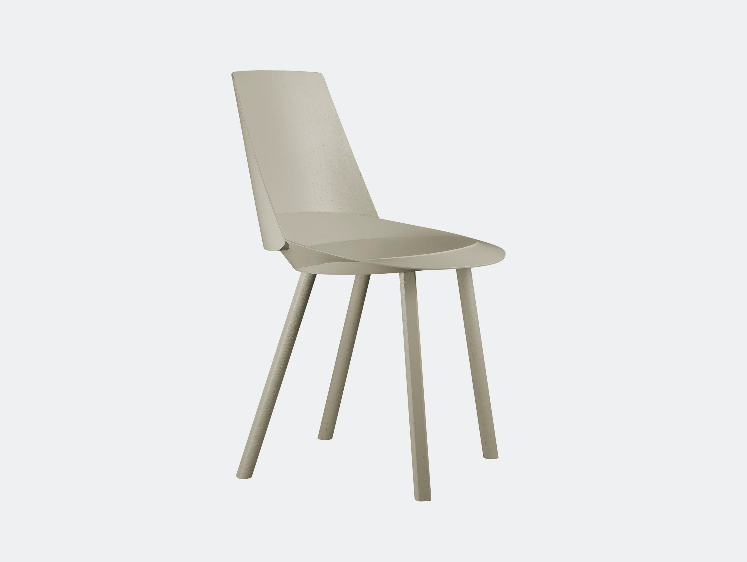 E15 Houdini Chair Silk Grey Stefan Diez