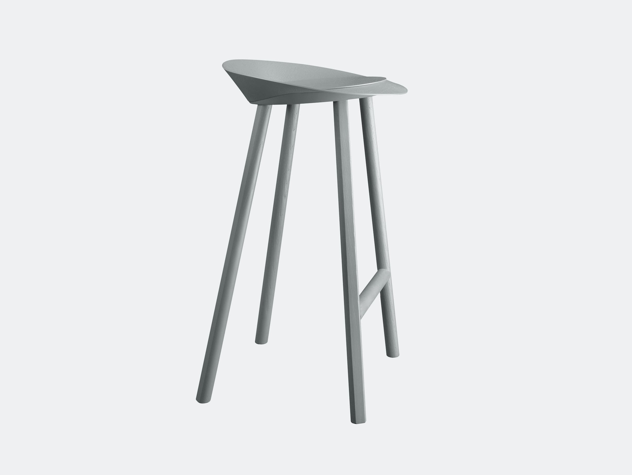 E15 Jean Stool Traffic Grey Stefan Diez