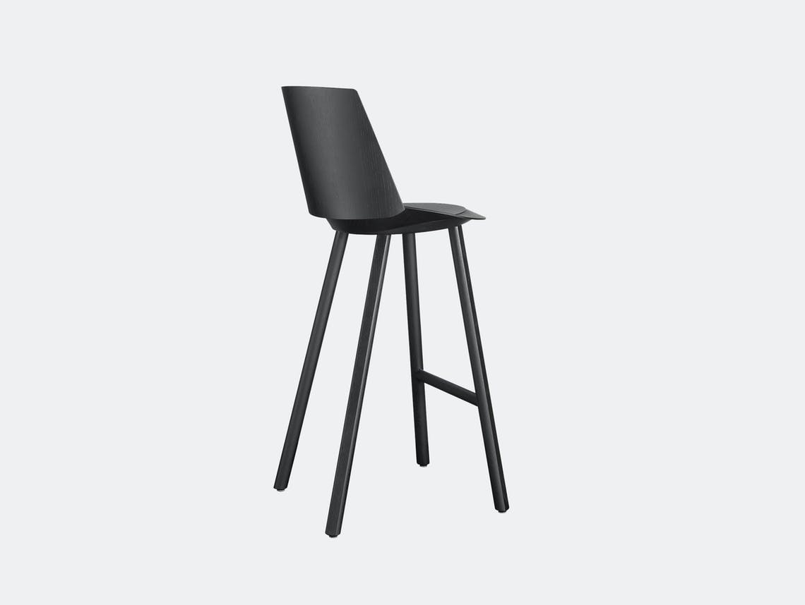 E15 jean stool woth backrest 1