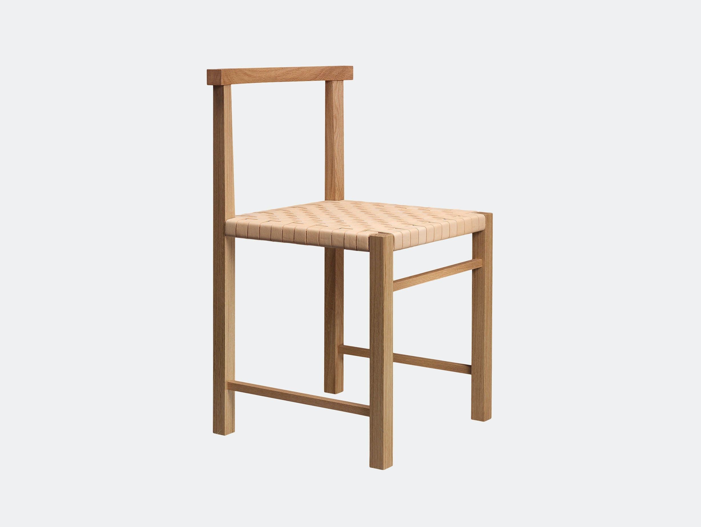 E15 Karnak Chair Oak Leather Ferdinand Kramer