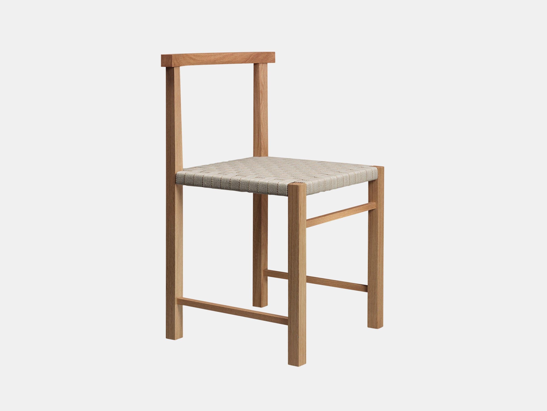 E15 Karnak Chair Oak Textile Ferdinand Kramer