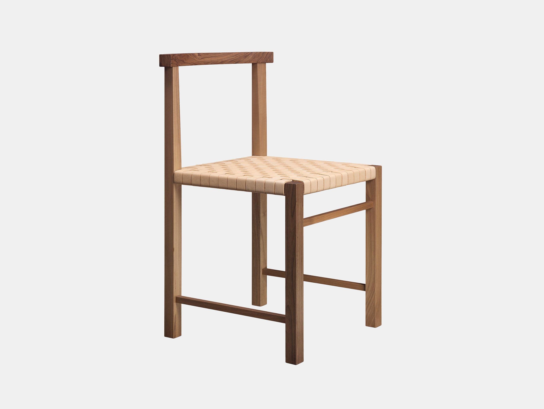 E15 Karnak Chair Walnut Leather Ferdinand Kramer