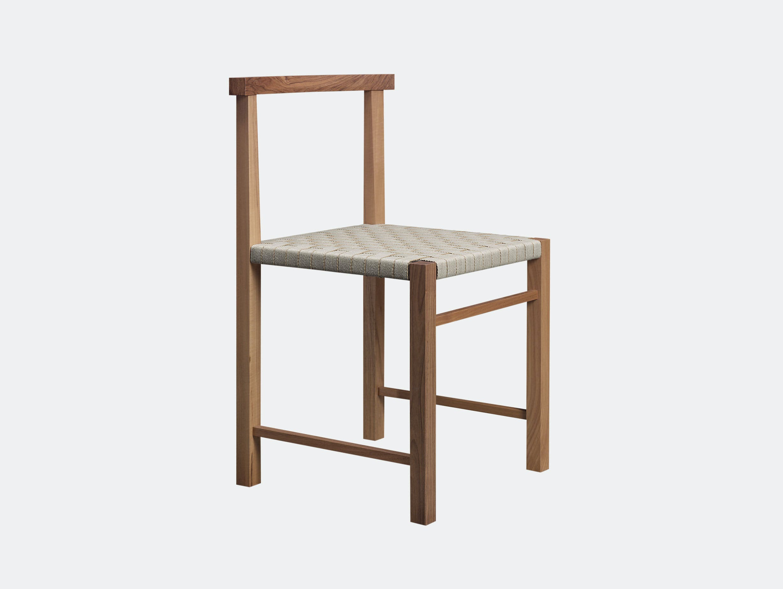E15 Karnak Chair Walnut Textile Ferdinand Kramer
