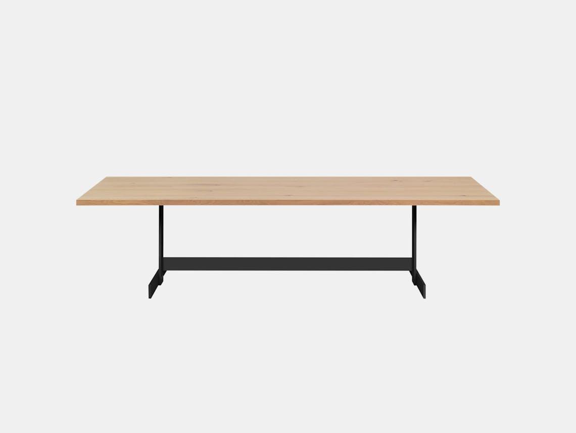 E15 Kazimir Table Oak Black Philipp Mainzer