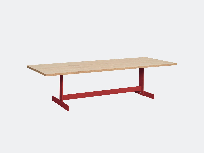 E15 Kazimir Table Oak Red Philipp Mainzer