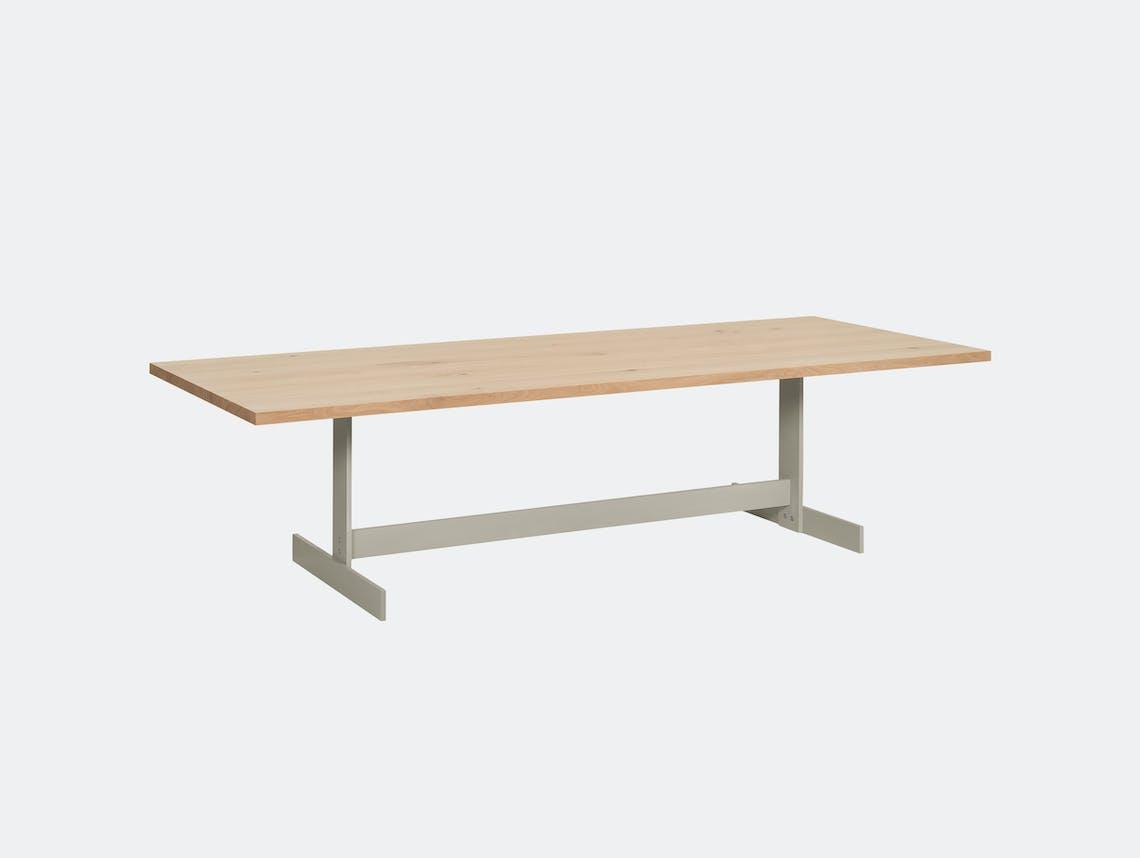 E15 Kazimir Table Oak Silk Grey Philipp Mainzer