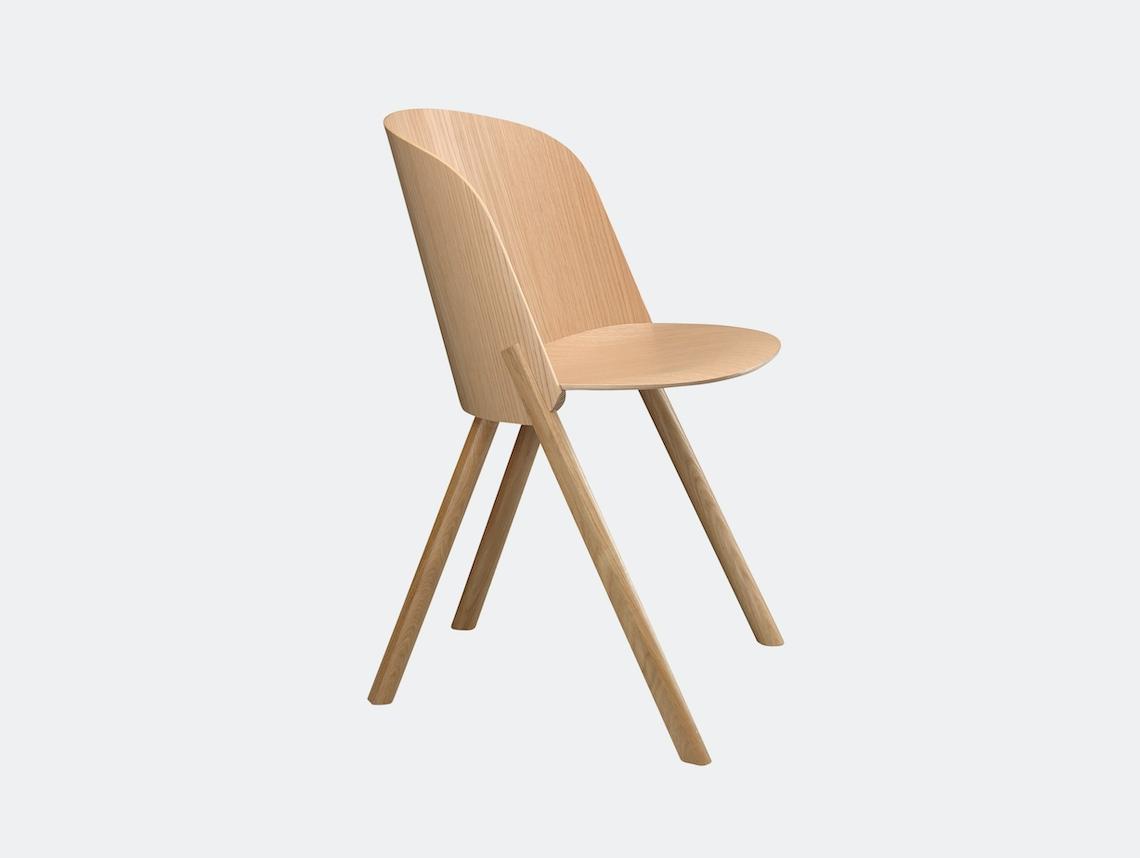 E15 This Chair Oak Stefan Diez