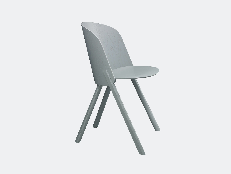 E15 This Chair Traffic Grey Stefan Diez