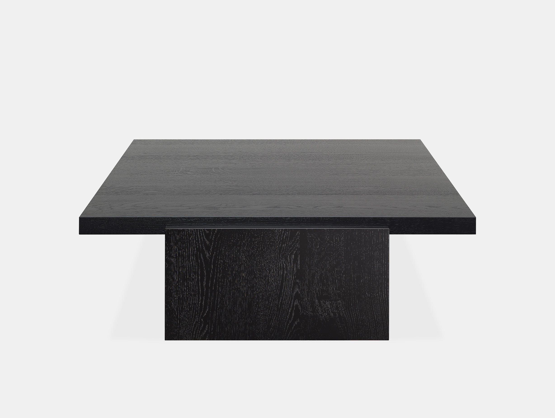 E15 tore table large jet black ct 2