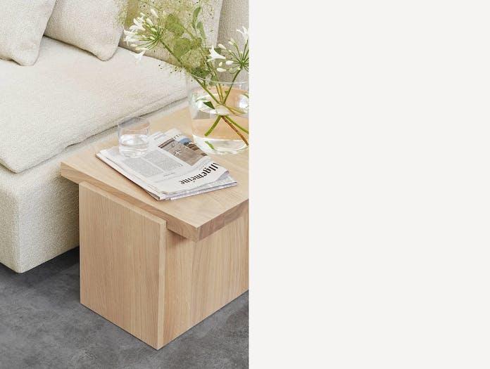 E15 tore table medium white pigmented oak 3