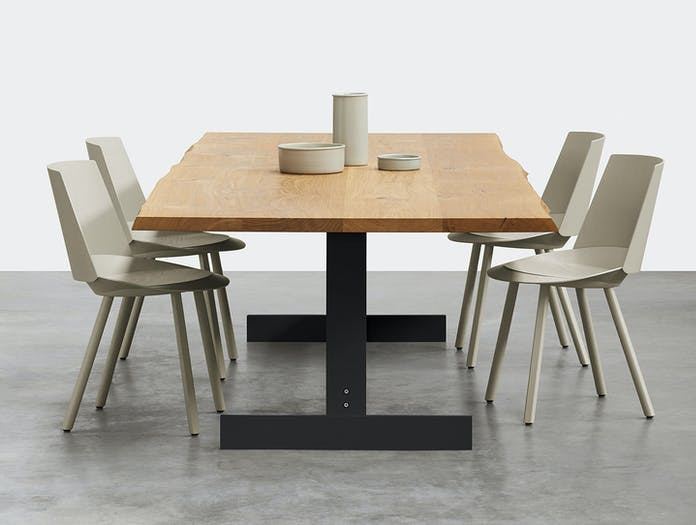 E15 Kazimir Raw Table Houdini Chairs Philipp Mainzer B