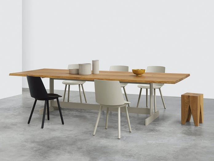 E15 Kazimir Raw Table Oak Silk Grey Philipp Mainzer B