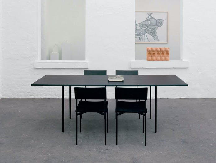 E15 Anton Table Black Henning Chairs Philipp Mainzer