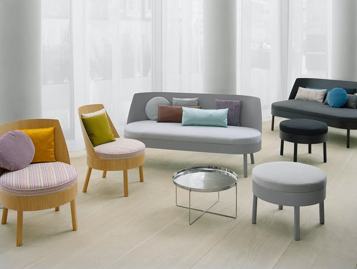 E15 Bess Sofa Bessy Lounge Chair Group Stefan Diez