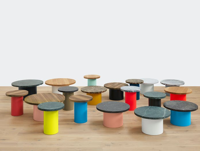 E15 Enoki Side Table Group 2 Philipp Mainzer