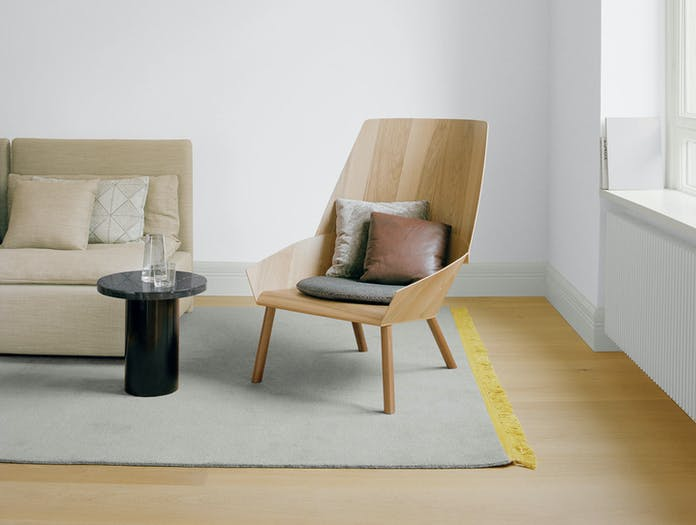 E15 Eugene Lounge Chair 2 Stefan Diez