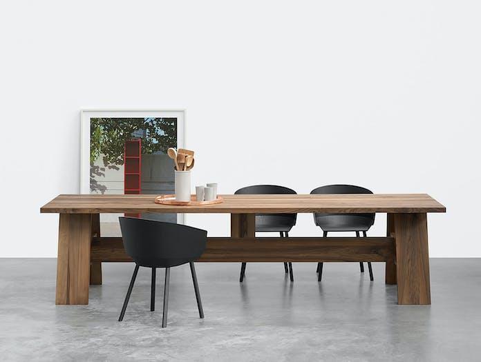 E15 Fayland Table Walnut Set David Chipperfield