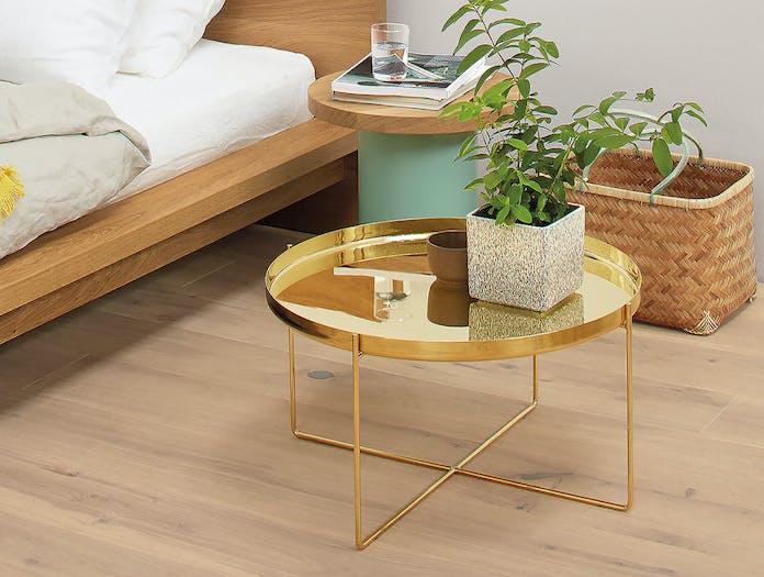 E15 Habibi Side Table Brass Bedside Philipp Mainzer