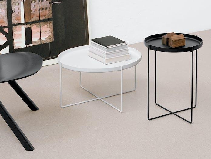 E15 Habibi Table Black White