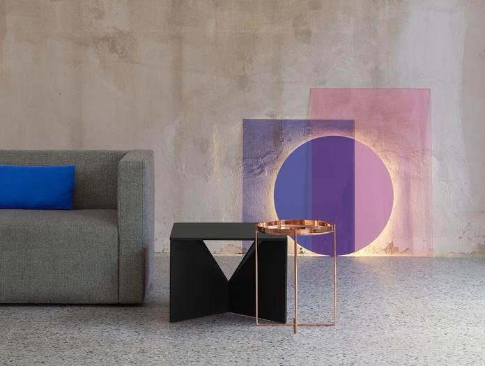 E15 Habibi Table Colour Light
