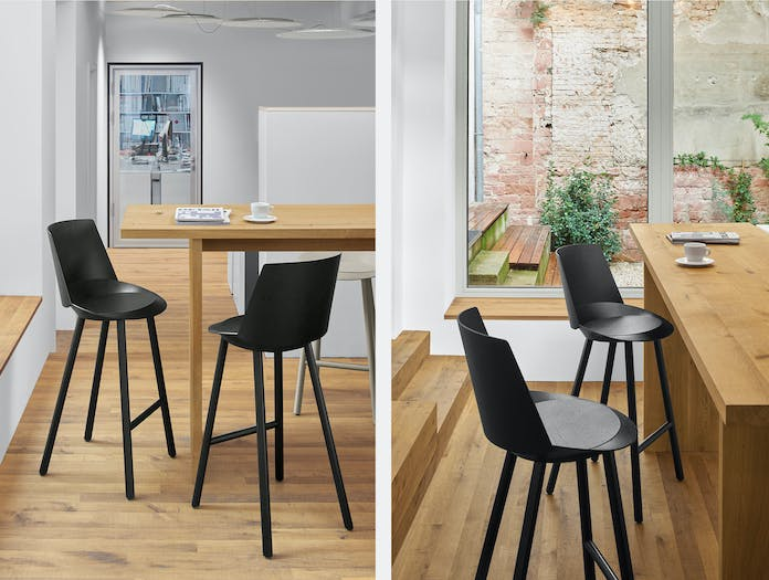 E15 jean stool with backrest 5