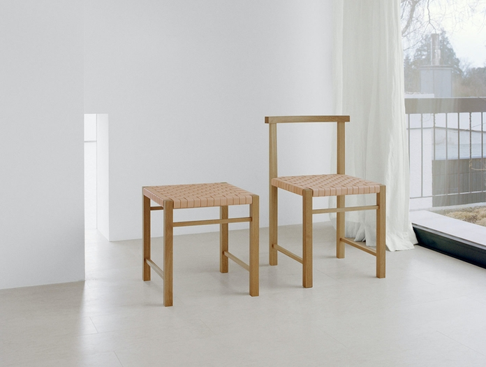E15 Karnak Chair Oak Ferdinand Kramer