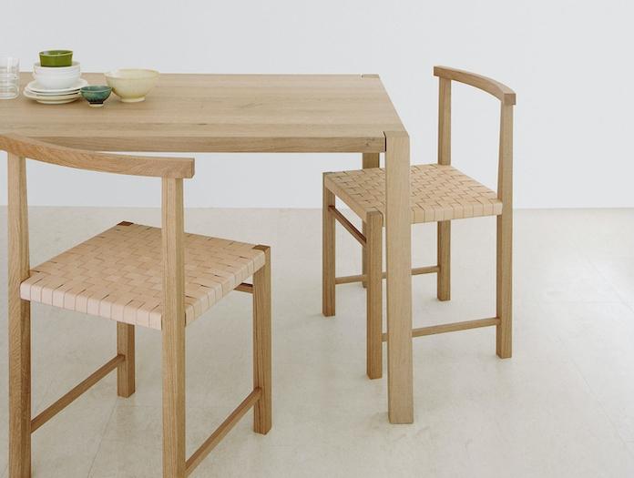 E15 Karnak Chair Oak Leather Sloane Ferdinand Kramer