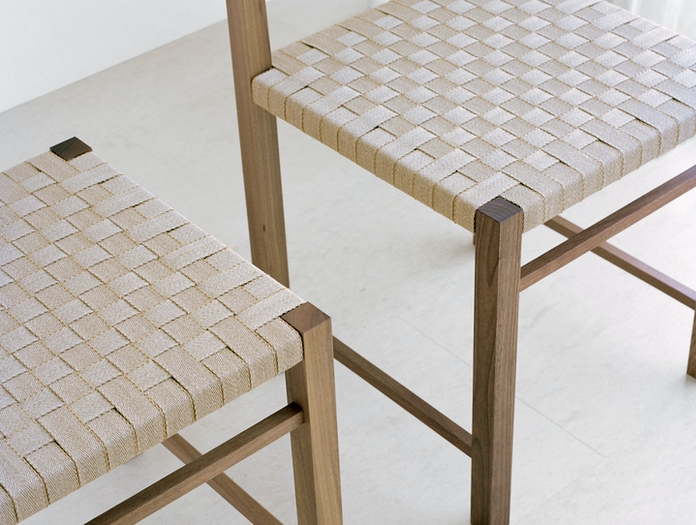 E15 Karnak Chair Walnut Detail Ferdinand Kramer