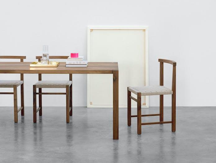 E15 Karnak Chair Walnut Ferdinand Kramer