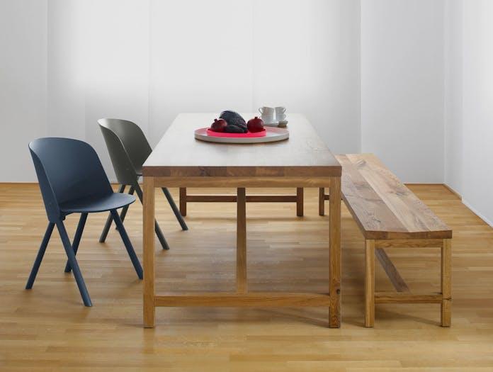 E15 Platz Table Oak End Detail Jorg Schellmann 1