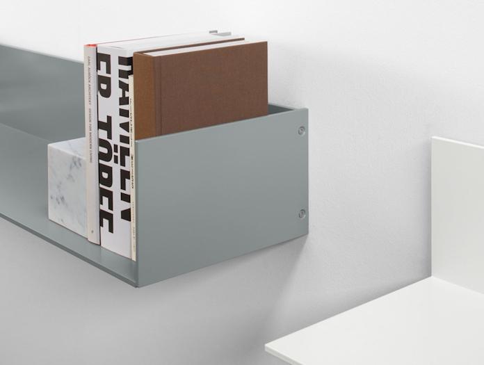 E15 Profil Shelf Grey End Detail Jorg Schellmann