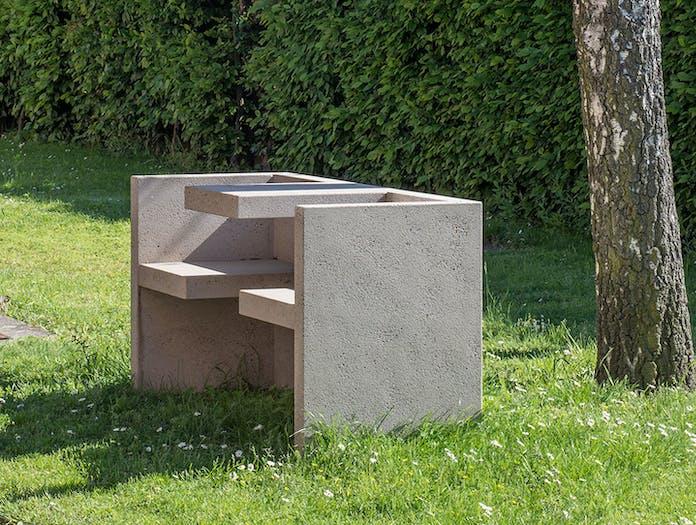 E15 Tafel Bench Concrete Hans De Pelsmacker