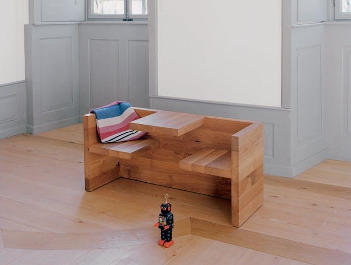 E15 Tafel Bench Oak Childrens Hans De Pelsmacker