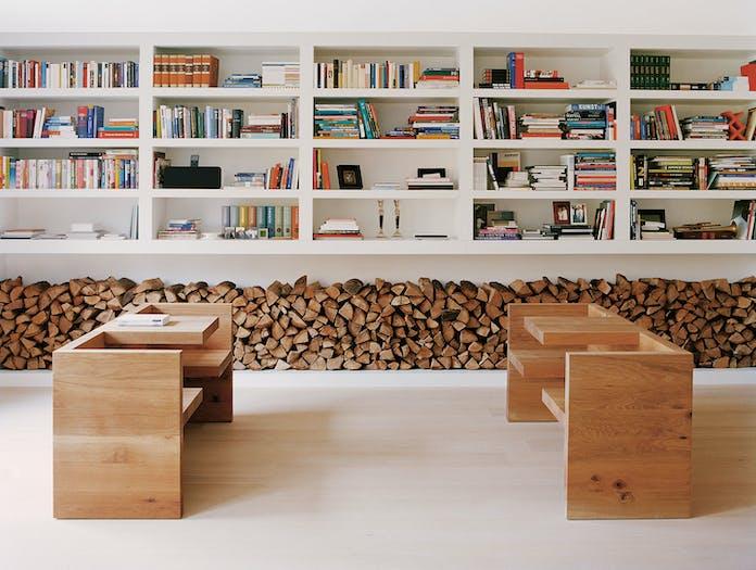 E15 Tafel Bench Oak Library Hans De Pelsmacker