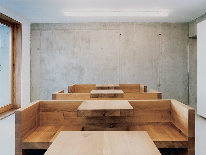 E15 Tafel Bench Oak Workspace Hans De Pelsmacker