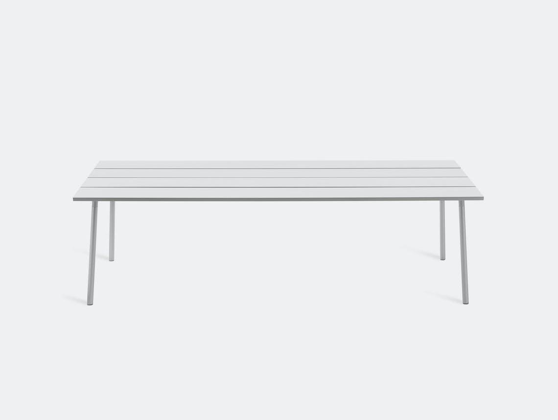 Emeco run table aluminium kim colin sam hecht