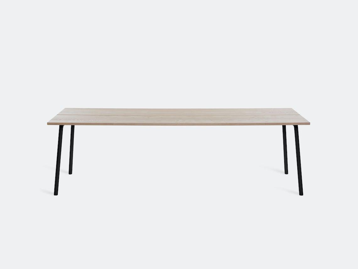 Emeco run table ash top black frame kim colin sam hecht