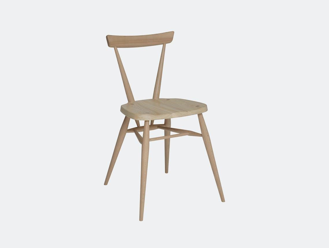 Ercol Originals Stacking Chair Elm Beech Lucian Ercolani